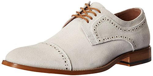 Adams Cap Stacy Suede Oxford Dobson Chalk Stacy Adams Toe Mens vUazE7Wq