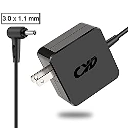 CYD 45w Replacement for Laptop-Charger Samsung Galaxy View sm-t670 Series 3 np300u1a 5 chromebook 500c xe500c21 7 Slate xe700t1a ativ Book 5 7 9 lite Spin np540u4e ad-4019p pa-1400-14 ad-4019w