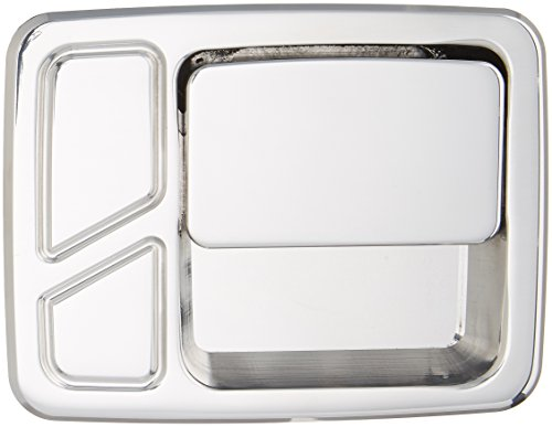 All Sales 512 Polished Billet Aluminum Rear Door Handle and Bucket (Billet Door Bucket)