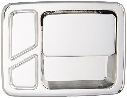 All Sales 512 Polished Billet Aluminum Rear Door Handle and Bucket (Door Handle Bucket Kit)