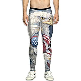 Amazon.com: Nvuznii American Bald EagleMen's Compression