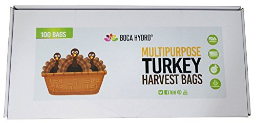Boca Hydro Turkey Bags Nylon Multipurpose Garden Harvest Bags Cannabis Bags