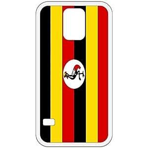Uganda Flag White Samsung Galaxy S5 Cell Phone Case - Cover