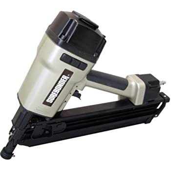 """Surebonder 9773 Pneumatic 33 Degree Clipped Head - 1/2"""" Framing Nailer with Bump or Sequential Fire"""