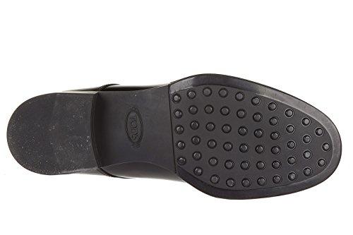 Schnürschuhe Schuhe Schwarz Damen Gummi Business derby Damenschuhe Leder Tods xRvqwBUO1X