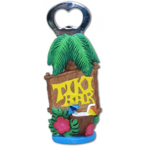 Hawaiian Tiki Bar Island Style Bottle Opener by KC Hawaii