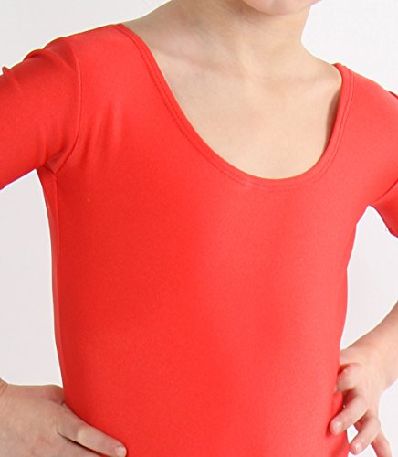 Maillot Manches Rot Ballet Combinaison Courtes Fille Body HUnnfq41d 0c8cd13e64a