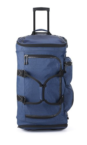 Antler Urbanite Mega Double Decker Wheeled Duffel, Navy, One Size by Antler