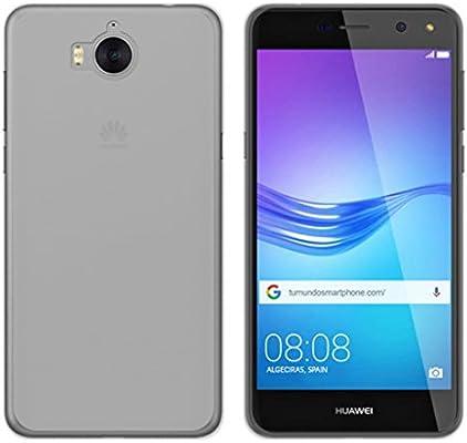 Tumundosmartphone Funda Gel TPU para Huawei Y6 2017 Color ...