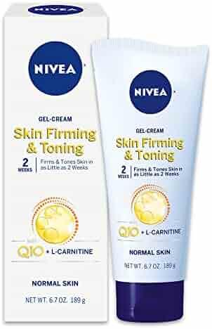 NIVEA Skin Firming & Toning Body Gel-Cream - With Q10 For Normal Skin - 6.7 oz. Tube