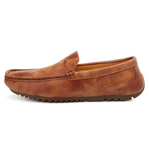 Miyoopark - zapatilla baja hombre marrón