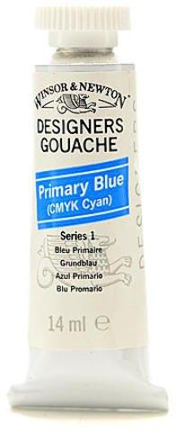 Winsor & Newton Designers' Gouache (Primary Blue) 1 pcs sku# 1874853MA
