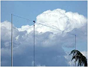 Antena dipolo hilera Windom bandas 40/80/20/10 m x 40 m ...