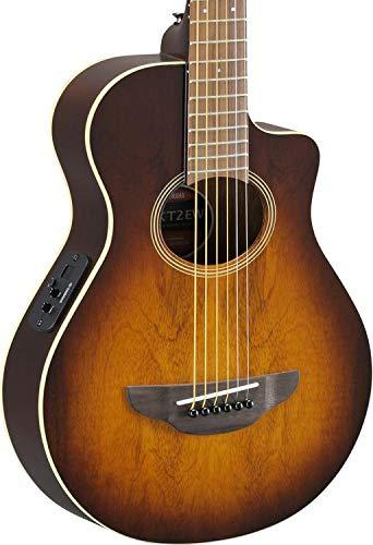 Yamaha APXT2EW 3/4-Size Acoustic-Electric Guitar with Gig Bag, Tobacco Sunburst