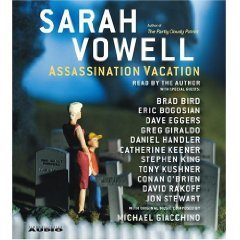 Assassination Vacation Abridged on CD in Box by Simon & Schuster