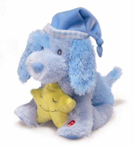 Russ Berrie Lullaby Puppy Baby Blue