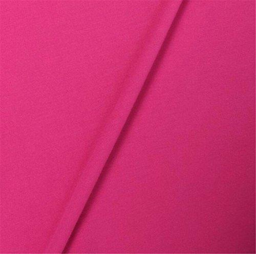 QIYUN.Z Otoño Invierno De La Manera Holgada De Manga Larga Mini Vestido De Cuello Redondo De Las Mujeres Rosa roja