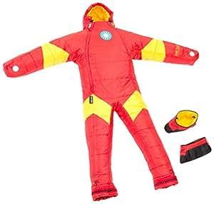 Selk'bag Iron Man Sleeping Bag, Small, Red