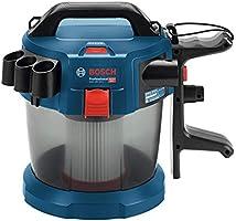 Bosch Professional GAS 18V-10 L Aspirador, capacidad 10 l, manguera 1,6 m, 90 mbar, sin batería, 0 W, 18 V, Azul: Amazon.es: Bricolaje y herramientas