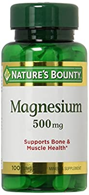 Nature's Bounty High Potency Magnesium 500mg