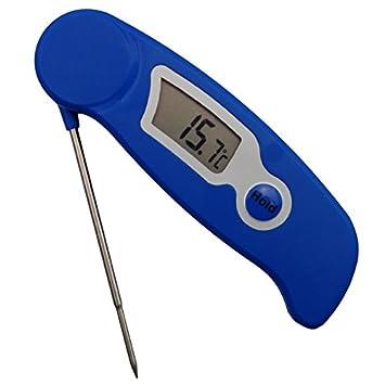 2e08d8fc7b1 Hacer velas termómetro plegable Sonda - Herramienta ideal para vela  Encargados de fusión de soja cera de parafina cartucho - Sonda de acero  inoxidable fácil ...