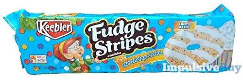 Keebler Limited Batch Birthday Cake Fudge Stripes Cookies ( 2 pack ) - Birthday Stripes