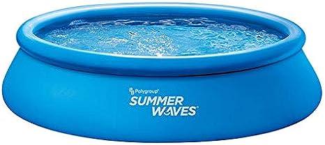 Summer Waves Quick Set Piscina 396 x 84 cm, incluye bomba de ...