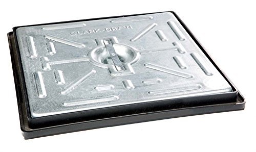 Clark-Drain-300x300mm-5T-Galvanised-Steel-Manhole-Cover-Single-Seal-with-Frame-PC2BG-by-Clark-Drain