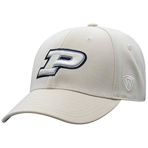 Top of the World Purdue Boilermakers Men's Memory Fit Hat Icon, Black, One Fit ()
