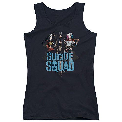 Suicide Squad Damen Pullunder Schwarz xSVy6