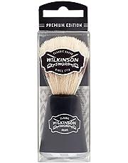 Wilkinson Sword Vintage Edition Barbershop Scheerkwast, zachte en huidvriendelijke borstelharen voor de klassieke scheerbeurt, 1 stuks.
