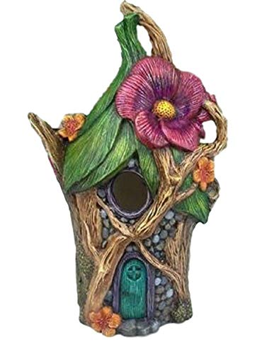 Fairy Bird House - Fairy Cottage Ready to Paint (Unpainted) Ceramic Bisque by Doc Holliday