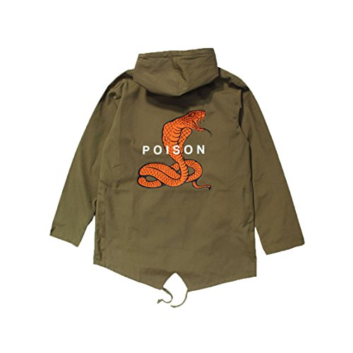 Parka Green Poison Fishtail Jacket Agora AqFROYwvZ