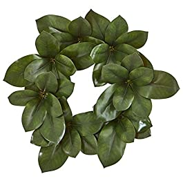 "Nearly Natural 22"" Magnolia Leaf Artificial..."