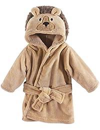 Unisex Baby Plush Animal Face Robe, Lion, One Size