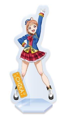 Love Live! Sunshine!! ''Hanamaru-chan'' Selected as SEGA Staff Image Girl Campaign Happy Party Train ver. Acrylic Stand Chika Takami by Sega