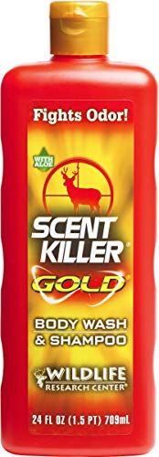 Scent Killer Gold 1241 Wildlife Research Body Wash and Shampoo