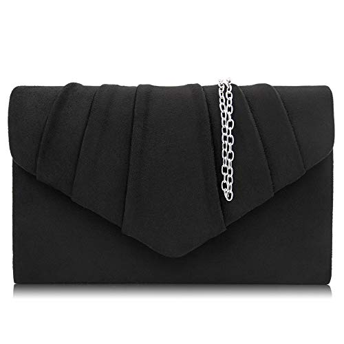 Milisente Evening Pleated Envelope Clutches product image