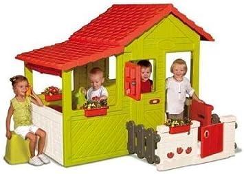 Smoby 310207 Jeu De Plein Air Maison Floralie Amazon Fr Jeux Et Jouets