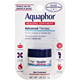Aquaphor Advanced Therapy Healing Ointment Skin Protectant 0.25 Ounce Carded Pack