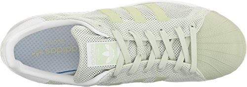 Adidas Originali Mens Superstar Rimbalzo Easy Mint S17 / Easy Mint S17 / Calzature Bianche 12,5 D Us
