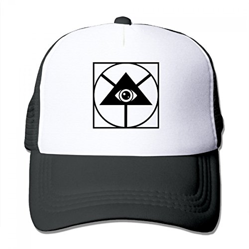 Allseeing Eye Mesh Trucker Hat Snapback Cool Baseball Caps For Kids one - Charleston Shades Of Hats