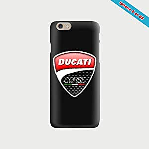 Coque iphone 6/6S Fan de Ducati Corse - Negro