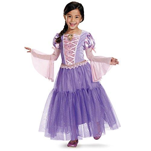 (Rapunzel Deluxe Disney Princess Tangled Costume,)