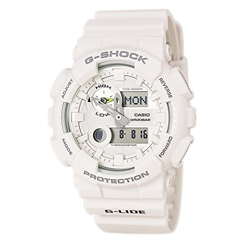 G Shock GAX 100 G Lide Watches White