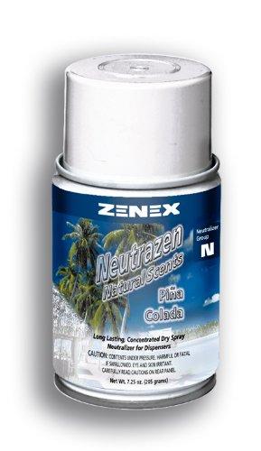 (Zenex Neutrazen Pina Colada Scent Metered Odor Neutralizer - 12 Cans)