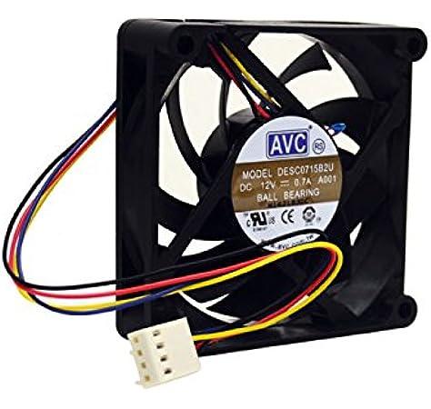 Amazon.com: PartsCollection AVC DESC0715B2U 4-WIRE 0.7A Fan: Computers &  AccessoriesAmazon.com