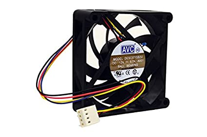 Amazon.com: PartsCollection AVC DESC0715B2U 4-WIRE 0.7A Fan ... on