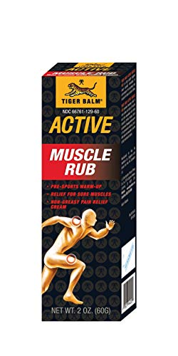 - Tiger Balm Muscle Rub, 2-Ounce Tubes (Pack of 6)