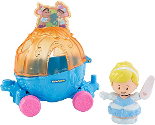 Fisher-Price Little People Disney Princess Parade Cinderella & Pals Float (People Pals)